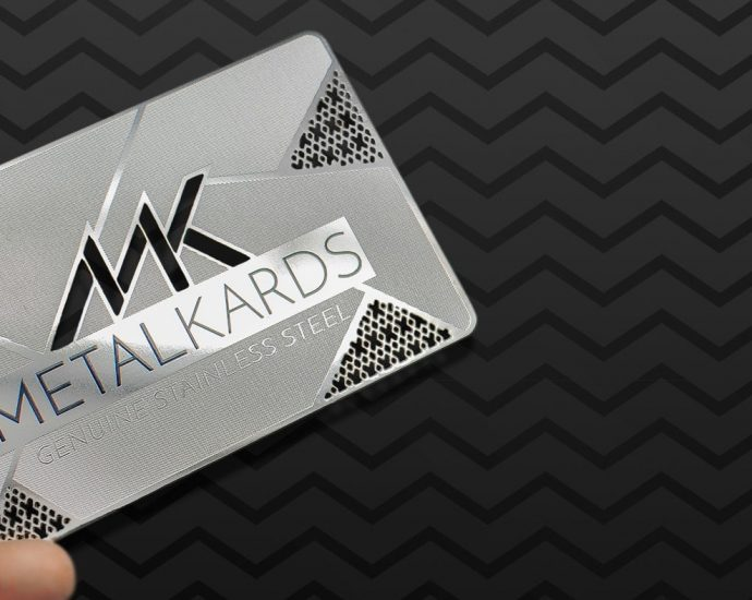 metal business cards amazon